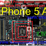 iPhone 5 Power Button Flex Cable FPC board