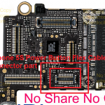 iPhone 5S Power Button Flex Cable FPC board